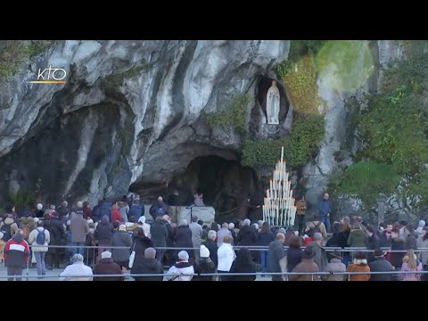 Chapelet à Lourdes du 7 décembre 2019