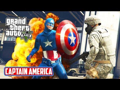 Captain America Mod GTA V