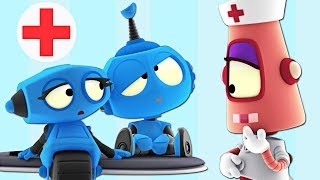Sick ROB!? | Space Virus Blues | Rob The Robot | Preschool Learning Videos by Oddbods & Friends