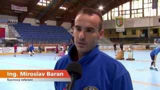 preview picture of video 'Vianočný bedmintonový turnaj - Aréna Brezno - 21.12.2014'