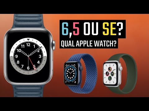 Apple Watch Series 6, 5 ou SE? QUAL COMPRAR?