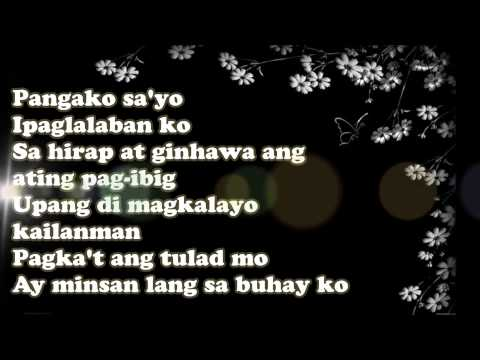 Download Pangako Sa'yo - Vina Morales (LYRICS) HD Mp4 3GP Video and MP3