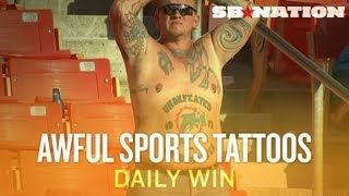 Worst Sports-Themed Tattoos (Daily Win) thumbnail