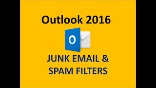 Outlook 2016 - Block Spam Emails - How to Stop Unwanted Junk Email on Microsoft MS 365 Mail Tutorial