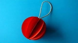новогодние игрушки своими руками как сделать елочные шары