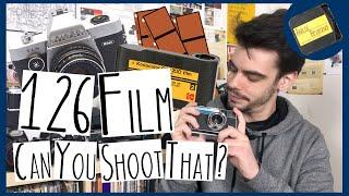 126 Film & Using 35mm in 126 Cameras
