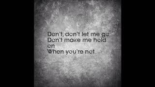 The Click Five - Don't Let Me Go (Karaoke With Lyrics)
