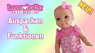Luvabella Newborn | Auspacken und Funktionen