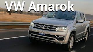 Volkswagen Amarok - Poder para el trabajo rudo   Autocosmos