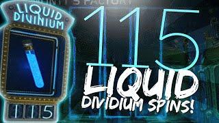 115 LIQUID DIVINIUM SPINS! (Black Ops 3 Zombies)