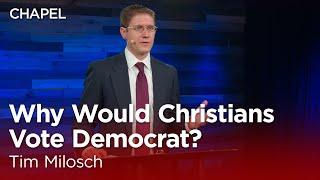 Tim Milosch: Why Would Christians Vote Democrat? [Biola University Chapel]