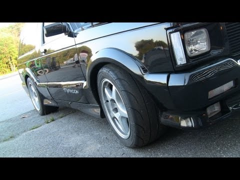 Fast 10 Second GMC Typhoon Drag Races