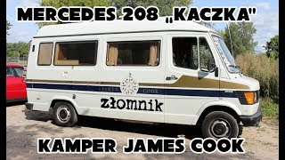 """Złomnik: Mercedes 208 """"Kaczka"""" James Cook - czy kampery mają sens?"""