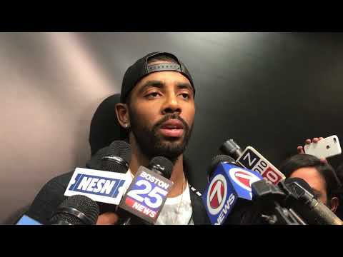 Kyrie Irving postgame interview talks expectations after loss to Bucks, Gordon Hayward injury | ESPN