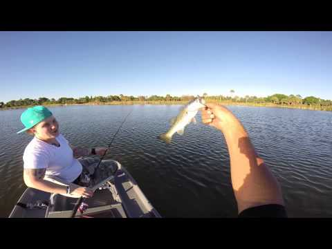 Bass Fishing 2014 w/ Pond Prowler n GoPro