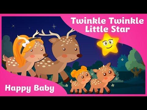 Twinkle Twinkle Little Star Song with Lyrics| Kids Songs | Super Simple Songs
