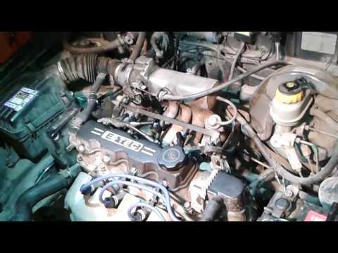 диагностика и ремонт автомобиля  Daewoo Lanos  двигатель троит при работе на бензине