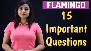 15 Important Questions of Flamingo | CBSE | Class 12 English Boards 2020