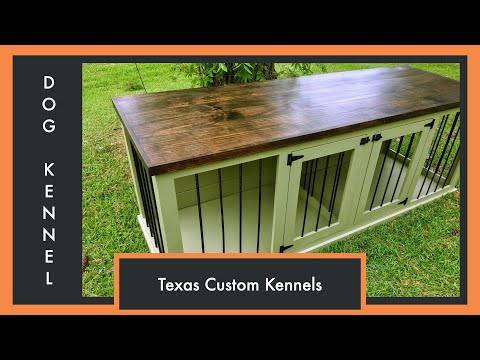 Building Your Double Dog Kennel - Texas Custom Kennels