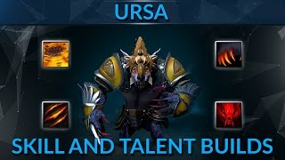 The right skill build and talent tree choices for Ursa in patch 7.06 (BSJ pro guide)