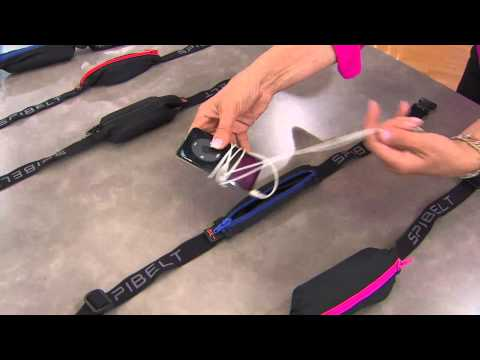Spibelt Expandable Spandex Stretch Belt with Carrying Pouch with Albany Irvin
