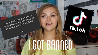 how to get unbanned on tiktok