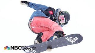 Chloe Kims Winning Run In Halfpipe At The 2019 Snowboard World Championships   NBC Sports