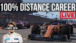 F1 2018 - 100% Distance Career Mode   Round 18: COTA