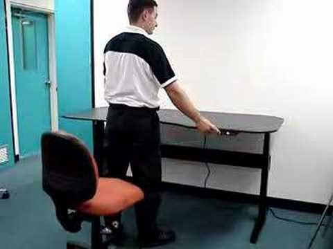 motiondesk-electric height adjustable ergonomic desk