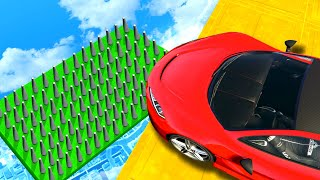 Who Will Survive The SPIKE TRAP? - GTA 5 Funny Moments
