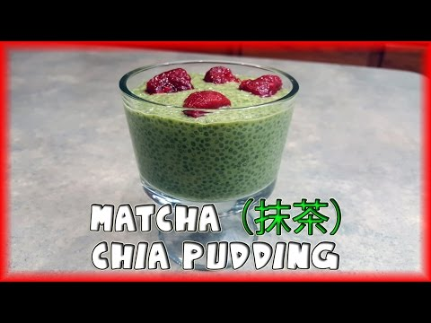 Video Matcha (抹茶) Green Tea Chia Pudding