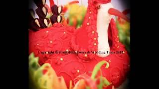 Asian Wedding Thaals Platters Displays Fruit Vegetable Carving.wmv