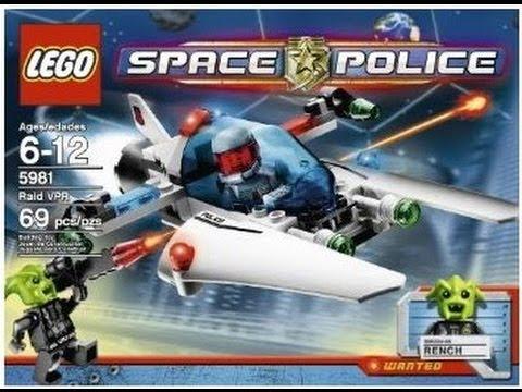 Vidéo LEGO Space Police 5981 : La Capture de Rench