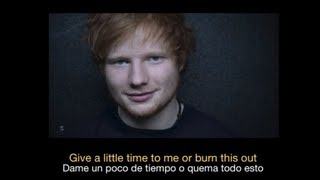 Gambar cover Ed Sheeran - Give Me Love HD (Sub español - ingles)
