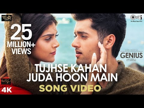 Download Tujhse Kahan Juda Hoon Main- Genius | Utkarsh, Ishita | Himesh Reshammiya, Neeti Mohan, Vineet Singh HD Video