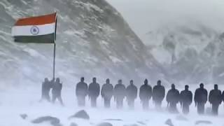 Jana Gana Mana | National Anthem Of India | The Siachen Glacier | Indian Army | जन गण मन |