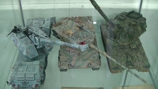 preview picture of video 'Painted Tanks and Planes, Neo Plamo, P3'
