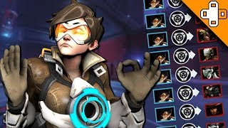 9000 IQ SEXTUPLE PLAYS! Overwatch Funny & Epic Moments 615