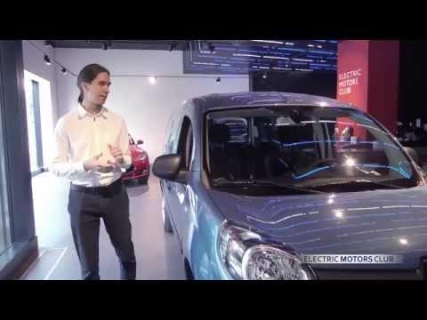 Renault  Kangoo Ze Минивен класса M - тест-драйв 2