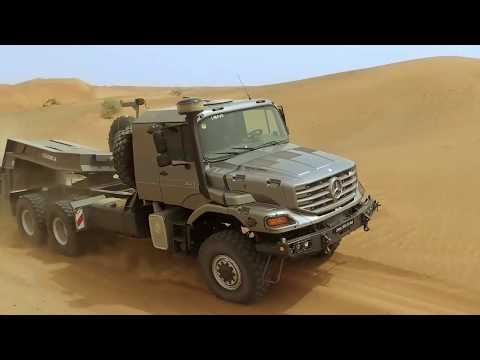 Mercedes Benz Trucks Daimler Zetros