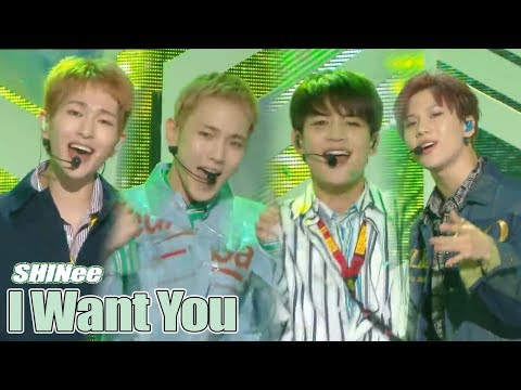 [Comeback Stage] SHINee - I Want You  , 샤이니 - I Want You   Show Music core 20180616