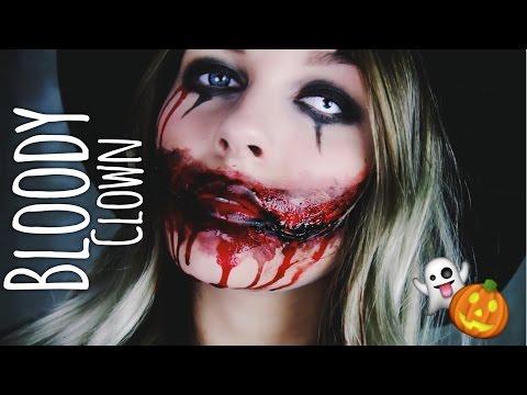 Bloody Clown - HALLOWEEN Make-up   Dagi Bee