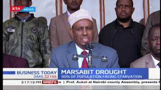 Over 90% of the population in Marsabit is facing food and water shortage