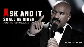 Steve Harvey Rags to Riches Testimony   You Have Not Because You Ask Not ask and it shall be given
