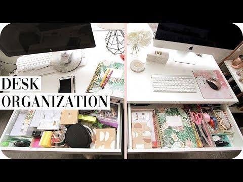 Office Organization: Desk Declutter!