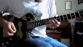 Deep Purple Comin Home Tommy Bolin Guitar solo cover
