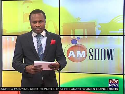 AM Show Intro on JoyNews (10-4-18)