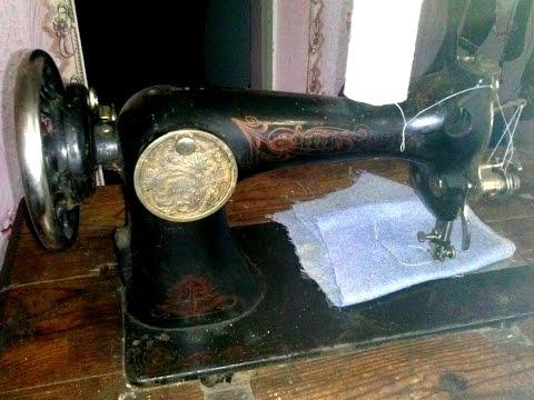 Швейная машинка SINGER ПМЗ довоенная
