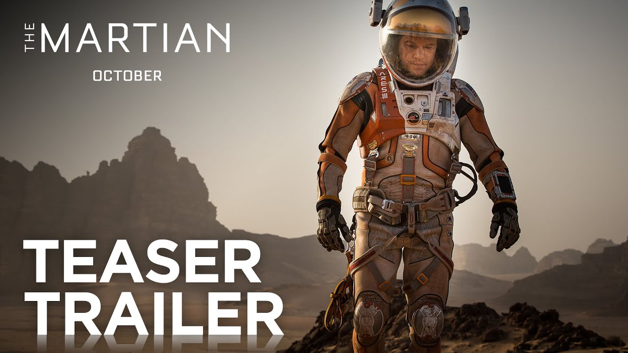 Movie Trailer:  The Martian (2015)