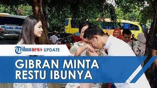 Resmi Daftar Cawalkot Solo, Gibran Minta Restu dan Cium Tangan Iriana Jokowi Didampingi Selvi Ananda